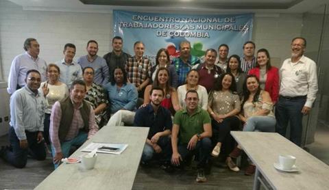 Les organisations syndicales municipales colombiennes forment un Réseau national
