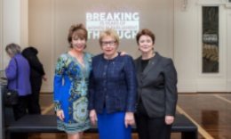 Kathy Lette, Margaret Reid and Susan Ryan