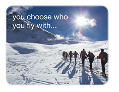 you choose who you fly with...