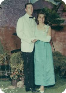 Mom's prom dress