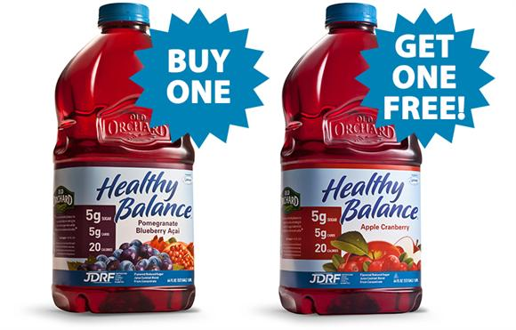Healthy Balance - Buy One, Get One FREE!