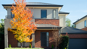 Australian suburban house