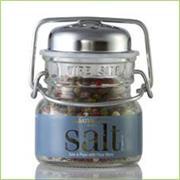 Sal & Pepe with Fleur Blanc Salt