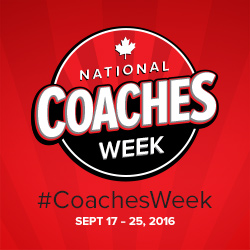National Coaches Week Sept 17-25 2016