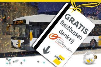 Gratis feestbussen dankzij provincie Oost-Vlaanderen