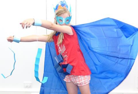 Winter school holidays: Super Hero Master Class