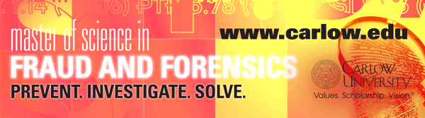 Master's Program in Fraud and Forensics