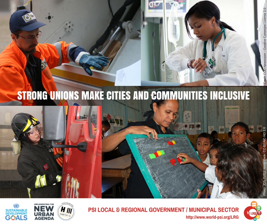 Three ways trade unions are making cities and local communities more equitable and inclusive