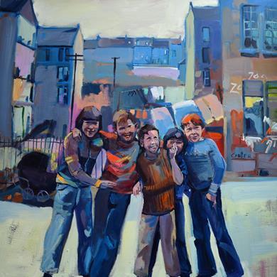 Glasgow Boys. 100 x 100 cm