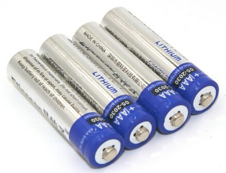 Lithium AA Batteries for Satellite Hub