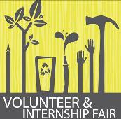 logo for volunteer and internship fair