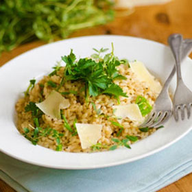 Pumpkin Seed Oil Risotto