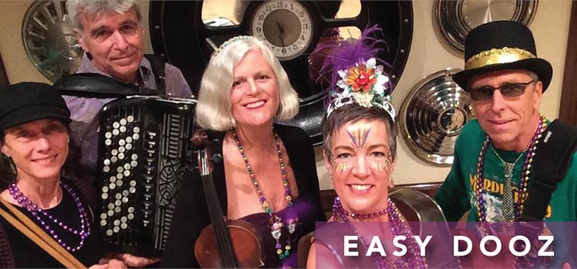 Easy Dooz plays in Sarasota on Friday