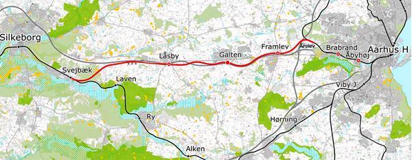 Regionalbaner i Midtjylland