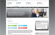 Liberty website design and development