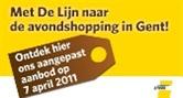 Laatavondshopping in Gent