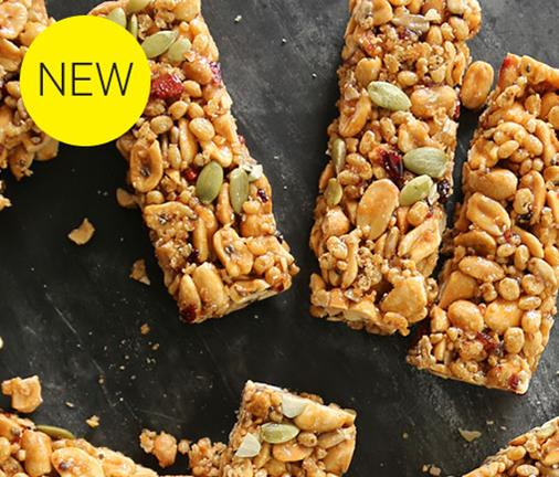 Snack attack! These low sugar, high protein bars are our guilt-free treat
