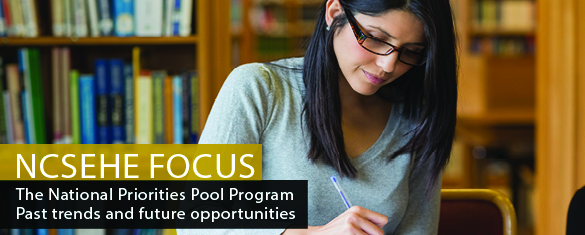 NCSEHE Focus — The National Priorities Pool Program: Past trends and future opportunities