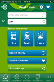Real Time Passenger Information App
