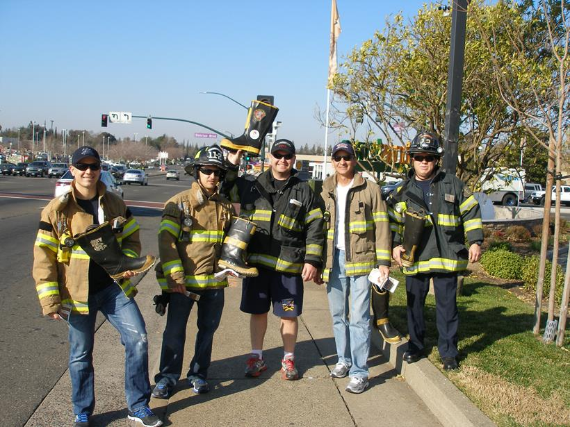 "2015 Firefighters ""Fill the Boot for Burns"" Boot Drive"