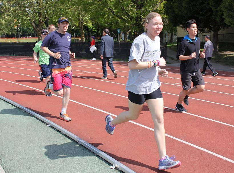Special Olympics BC Performance Program camp May 2015