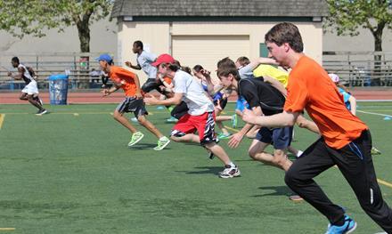 Special Olympics BC Performance Program sprinters