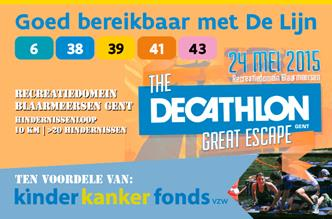 The Great Escape op 24 mei
