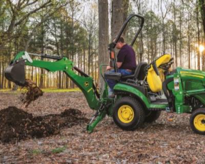 1025R Tractor Loader Backhoe ONLY $198/mo.