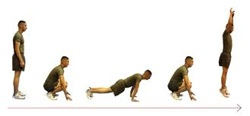 Exercise of the Month – Burpees