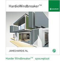 HardieWindbreaker™ spouwplaat