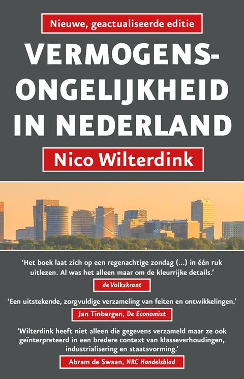 cover Vermogensongelijkheid in Nederland