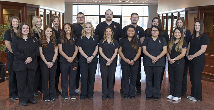 The fall 2017 graduating class from the OSUIT Nursing program.