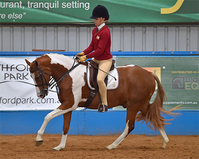 Competitors at theHorseware Australia Victorian Interschool Equestrian State Championships