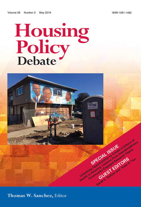 Image: Journal of Housing Policy Debate