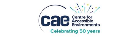 The Centre for Accessible Environments logo