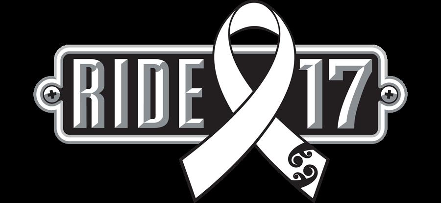 2017 White Ribbon Ride logo.