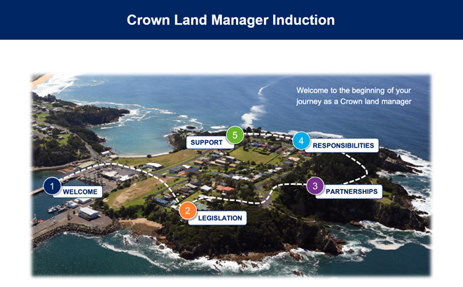 Crown land manager induction program