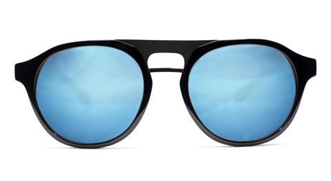 Eye Respect EJ Matte Black Sunglasses
