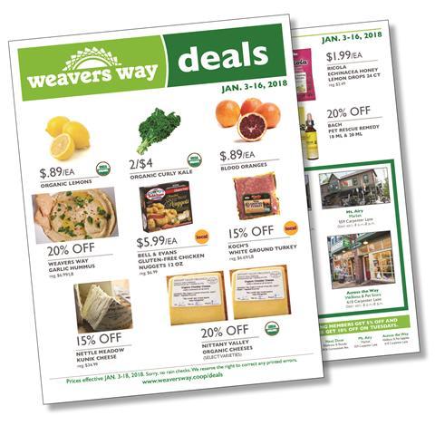 Weavers Way Deals