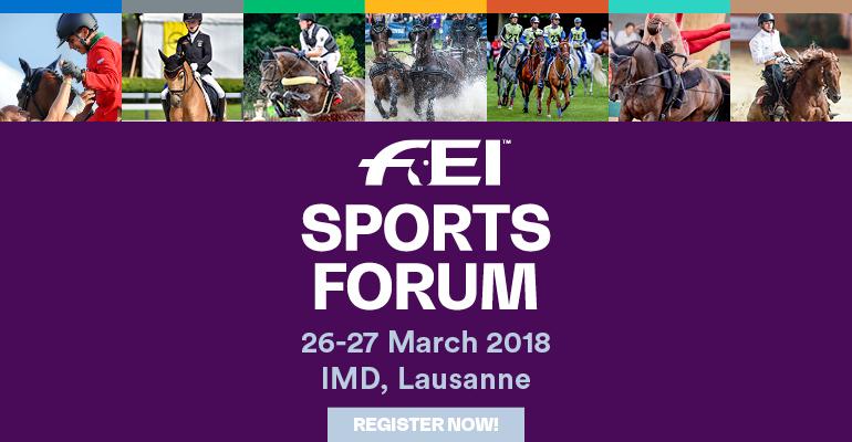 FEI Sports Forum 2018