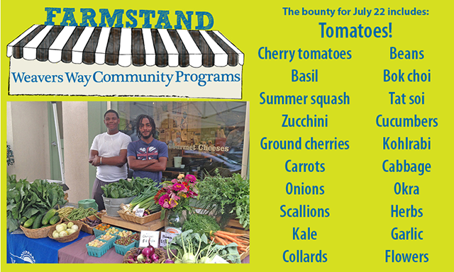 WWCP Farmstand at Chestnut Hill