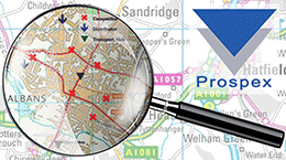 Prospex location analysis