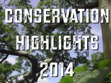 Conservation Highlights 2014. © WLT.