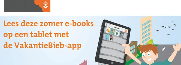 Lees deze zomer e-books op een tablet met de VakantieBieb-app