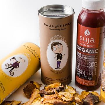 Paul n Pippa, Suja Juice, Bella Vita Dried Fruit