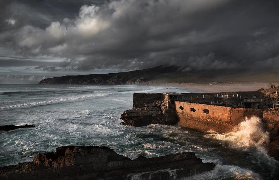 Clark Vandergrift seawall image