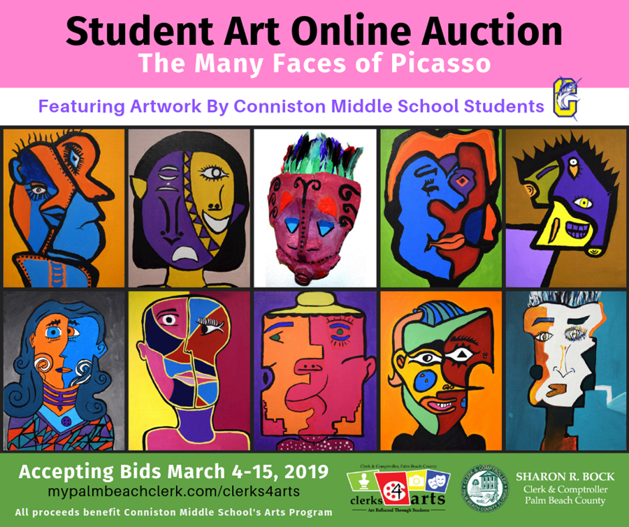 Student Art Online Auction