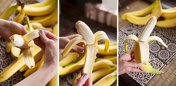 banana opening
