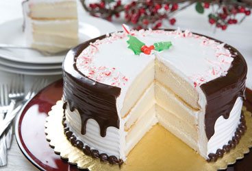 holiday peppermint torte