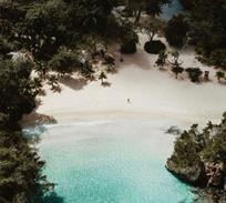 Photo of a beach